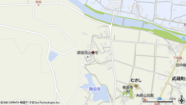 大分県国東市武蔵町糸原686周辺の地図