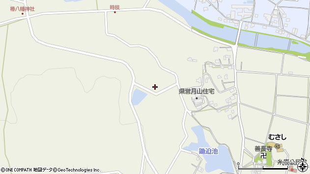大分県国東市武蔵町糸原896周辺の地図