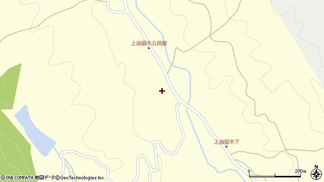 大分県国東市安岐町油留木2165周辺の地図