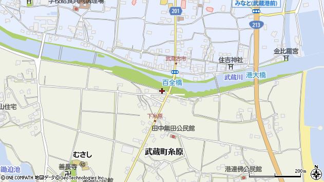 大分県国東市武蔵町糸原226周辺の地図