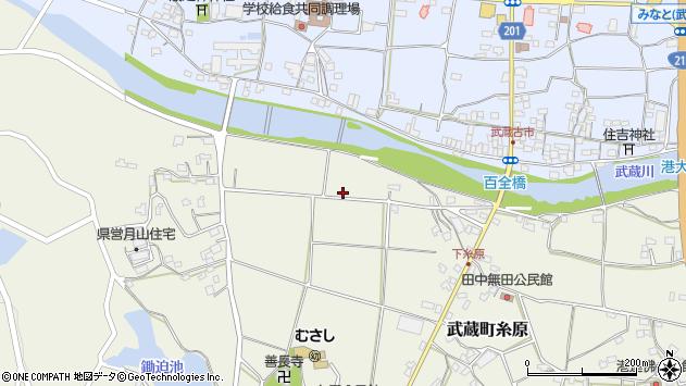 大分県国東市武蔵町糸原258周辺の地図