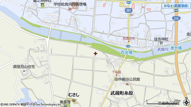 大分県国東市武蔵町糸原278周辺の地図
