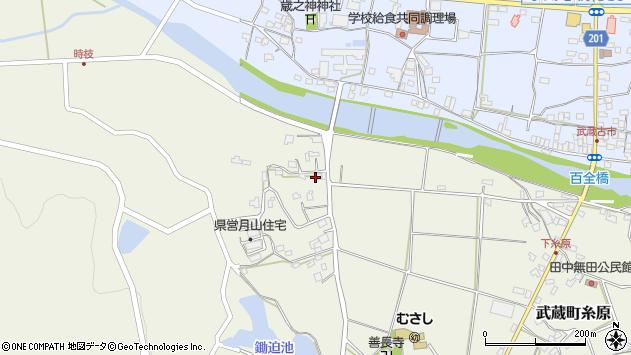 大分県国東市武蔵町糸原648周辺の地図