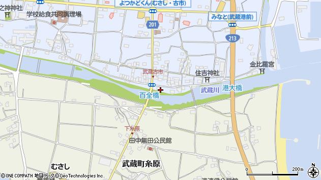 大分県国東市武蔵町古市572周辺の地図