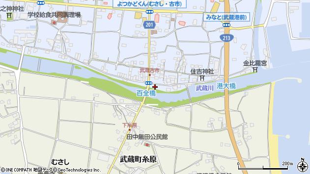 大分県国東市武蔵町古市573周辺の地図