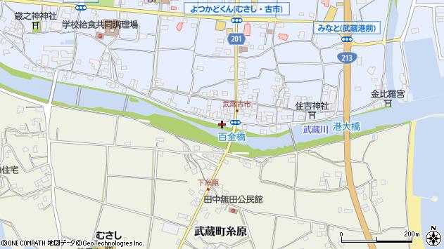 大分県国東市武蔵町古市618周辺の地図