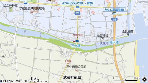 大分県国東市武蔵町古市617周辺の地図