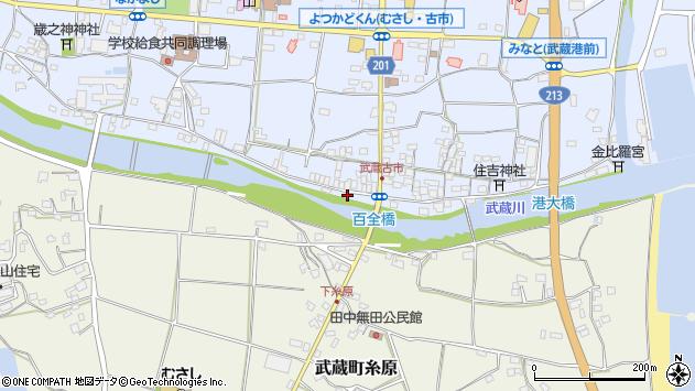 大分県国東市武蔵町古市620周辺の地図