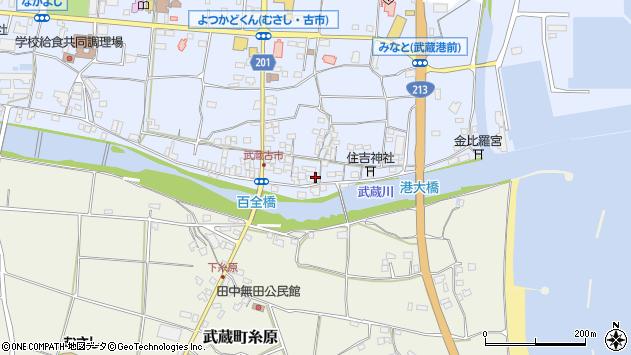 大分県国東市武蔵町古市547周辺の地図