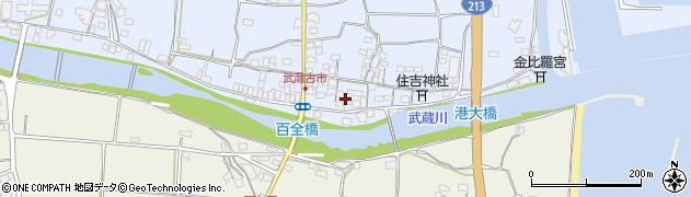 大分県国東市武蔵町古市540-1周辺の地図