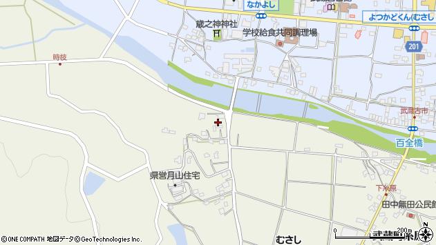 大分県国東市武蔵町糸原625周辺の地図