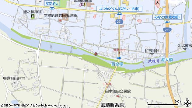 大分県国東市武蔵町古市630周辺の地図