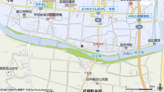 大分県国東市武蔵町古市627周辺の地図