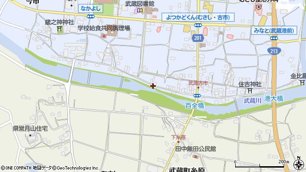 大分県国東市武蔵町古市639周辺の地図
