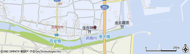 大分県国東市武蔵町古市446周辺の地図
