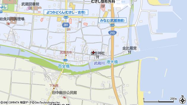 大分県国東市武蔵町古市472周辺の地図