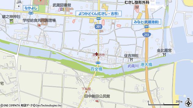 大分県国東市武蔵町古市583周辺の地図
