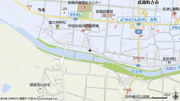 大分県国東市武蔵町古市672周辺の地図