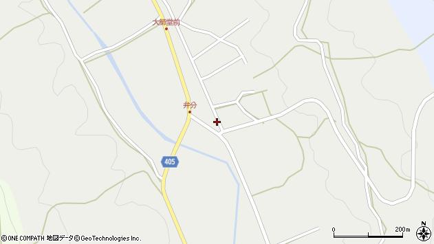 大分県国東市安岐町朝来3753周辺の地図