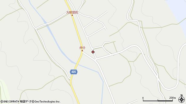 大分県国東市安岐町朝来2886周辺の地図