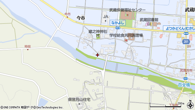 大分県国東市武蔵町古市708周辺の地図