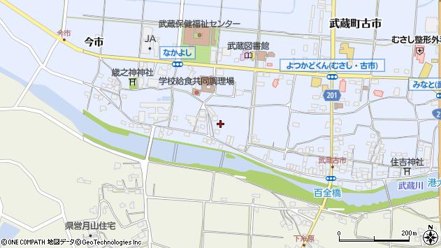 大分県国東市武蔵町古市668周辺の地図