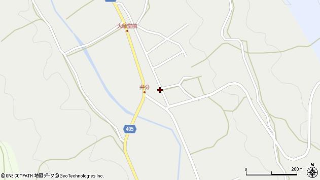 大分県国東市安岐町朝来2960周辺の地図