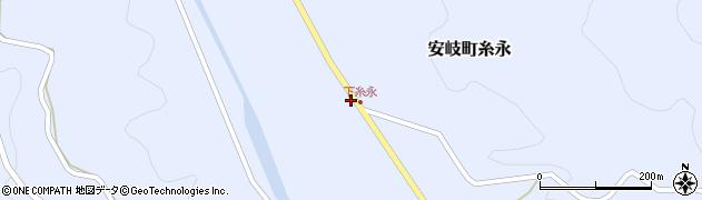 大分県国東市安岐町糸永1761周辺の地図