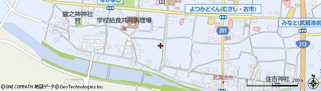 大分県国東市武蔵町古市663周辺の地図
