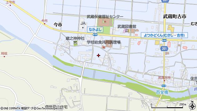 大分県国東市武蔵町古市今市周辺の地図