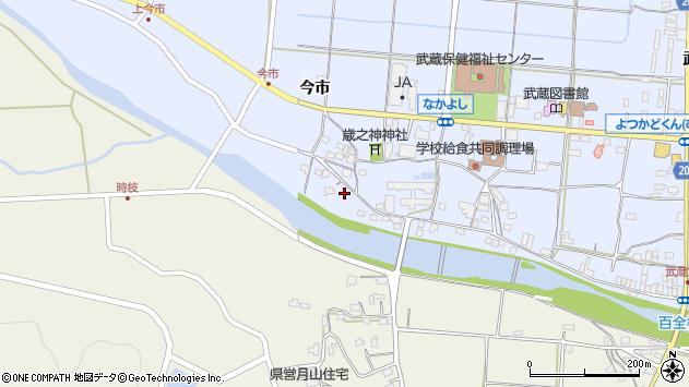 大分県国東市武蔵町古市742周辺の地図