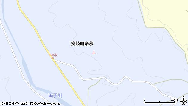 大分県国東市安岐町糸永小園周辺の地図