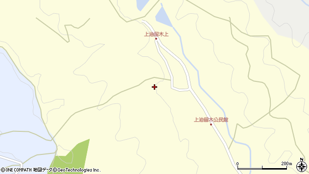 大分県国東市安岐町油留木2406周辺の地図