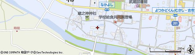 大分県国東市武蔵町古市711周辺の地図