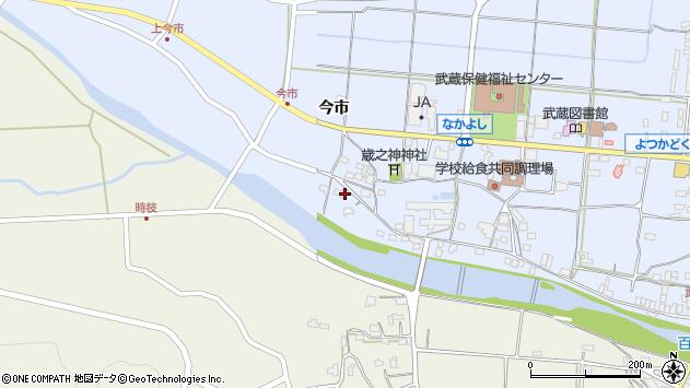 大分県国東市武蔵町古市756周辺の地図