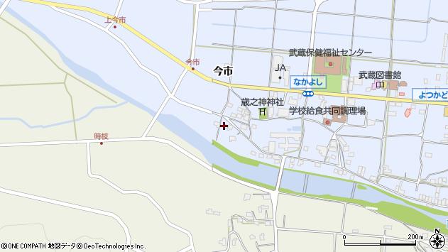 大分県国東市武蔵町古市758周辺の地図