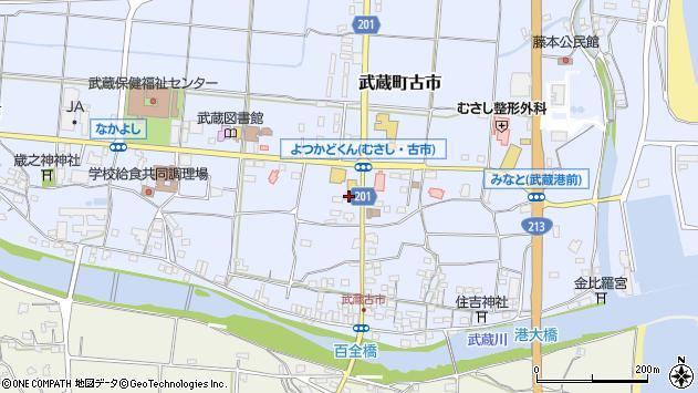 大分県国東市武蔵町古市104周辺の地図