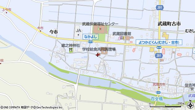 大分県国東市武蔵町古市1106周辺の地図