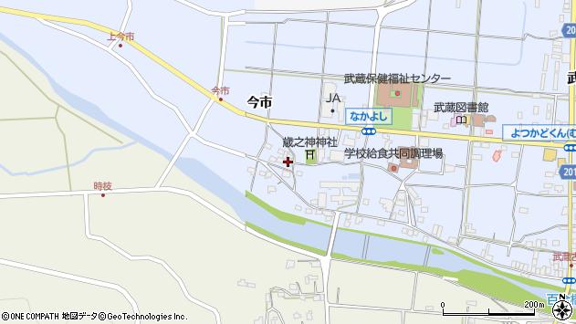 大分県国東市武蔵町古市765周辺の地図