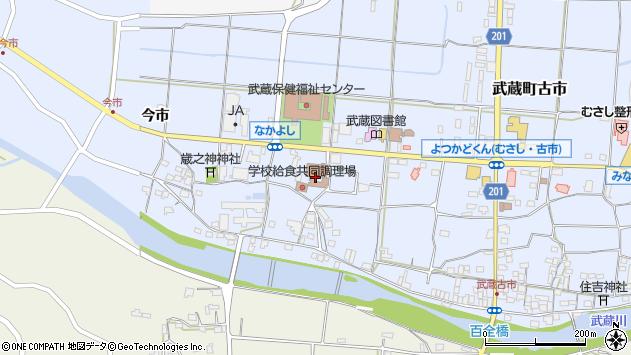 大分県国東市武蔵町古市1107周辺の地図