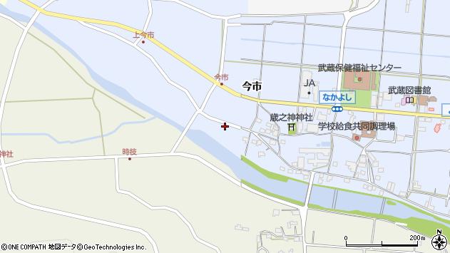 大分県国東市武蔵町古市843周辺の地図