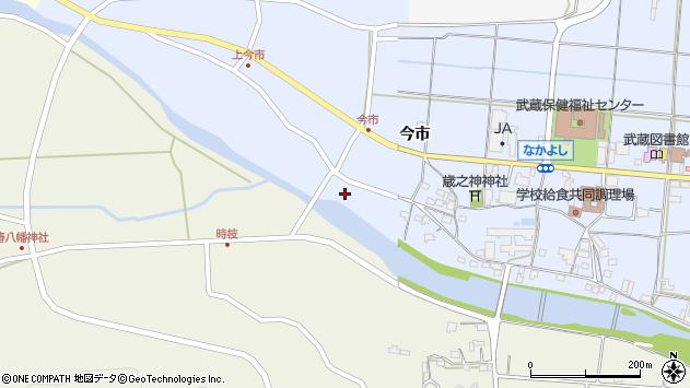 大分県国東市武蔵町古市800周辺の地図