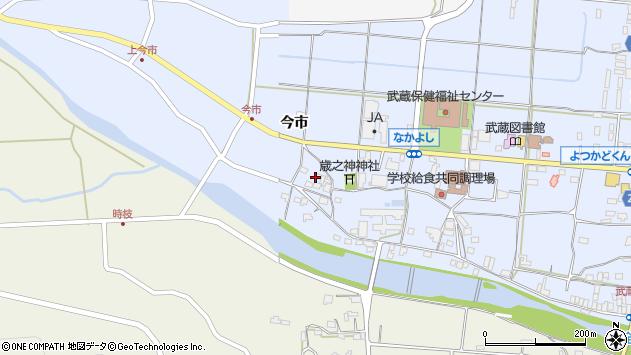 大分県国東市武蔵町古市770周辺の地図