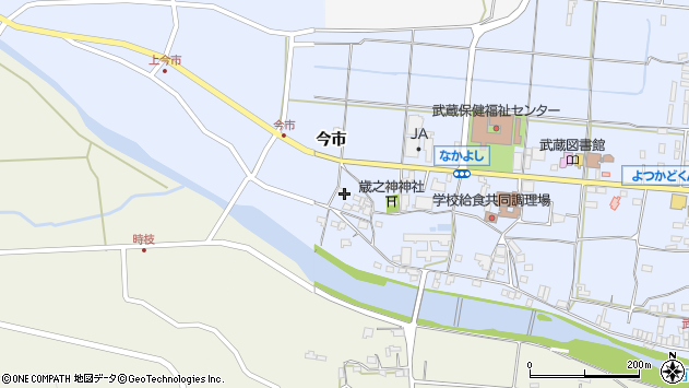 大分県国東市武蔵町古市775周辺の地図