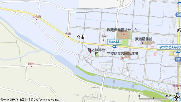 大分県国東市武蔵町古市1064周辺の地図