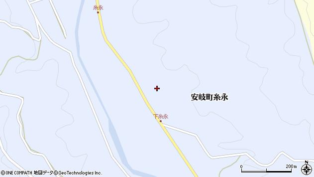 大分県国東市安岐町糸永3163周辺の地図