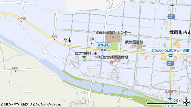 大分県国東市武蔵町古市1073周辺の地図