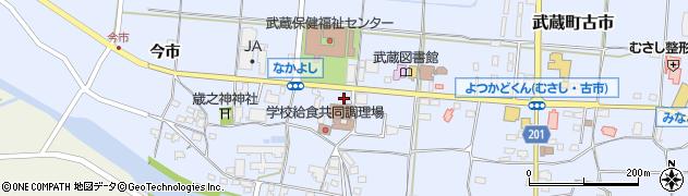 大分県国東市武蔵町古市1108周辺の地図
