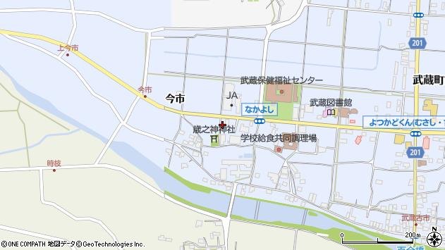 大分県国東市武蔵町古市1074周辺の地図