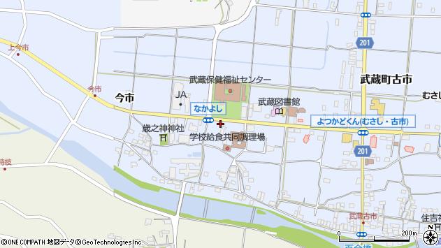 大分県国東市武蔵町古市1100周辺の地図
